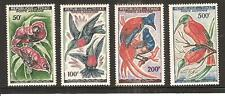 CHAD # C3-6 MNH AIRMAILS. BIRDS IN NATURAL COLORS