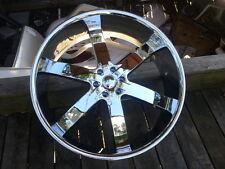 "26"" Inch CHROME U2 55 Rims Wheels 20 24 28 30"
