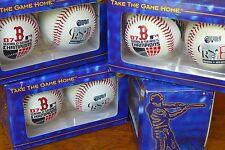 2007 WORLD SERIES CHAMPION BOSTON RED SOX Set of 2 BASEBALLS  NEW IN BOX SWEET!!