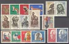 BUNDESPOST BERLIN - 1967 complete year MNH