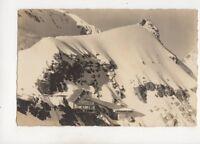Berghaus & Station Jungfraujoch Switzerland Vintage RP Postcard 364b