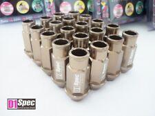 Bronze Original D1-SPEC 52mm Lug Nuts Radmuttern M12 x 1,5 Set Radschrauben JDM