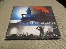 "COFFRET 2 CD DIGIPACK ""PATRICK BRUEL - LIVE : RIEN NE S'EFFACE"""