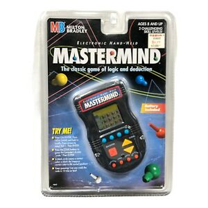 Mastermind Electronic Hand Held Game Milton Bradley 1997 New Factory SEALED