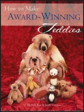 HOW TO MAKE AWARD WINNING TEDDIES w/ PATTERNS Sew 25 Collectible Bears for Adult