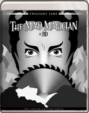 THE MAD MAGICIAN 3-D !!! (1954) Blu-Ray VINCENT PRICE Twilight Time SEALED *RARE