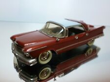 CONQUEST MODELS IMPERIAL CROWN 1957 - RED MET 1:43 - EXCELLENT CONDITION - 6