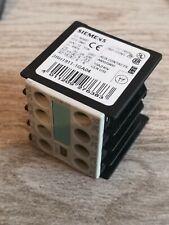 Siemens A&d CD Hilfsschalterblock 3rh1911-1ga04