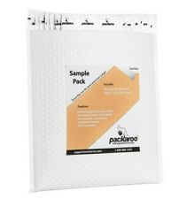Bubble Mailers White Square Poly Shipping Mailing Padded Envelopes Bags Packaroo