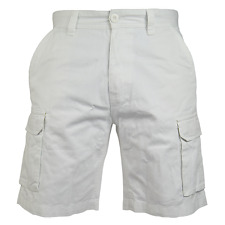 Mens Cargo Combat Chino Shorts Cotton Work Wear Half Pant Casual Jeans 32-46