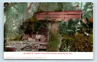Pasadena, CA PRE 1908 VIEW OF CABIN AT LUCKY BALDWINS RANCH POSTCARD