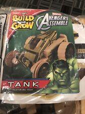 Lowe's Build and Grow Marvel Avengers Hulk tank Wooden Kit
