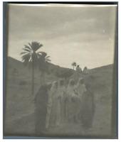 Algérie, Scène de genre  Vintage silver print.  Tirage argentique  9x12  C