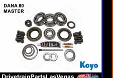 Dana 80 Master Bearing Rebuild Overhaul Kit Koyo Oe Complete Rear Differential