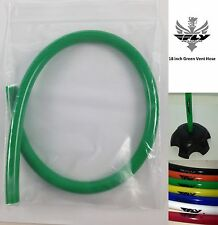 GREEN Fly Racing Vent Hose Tube Fuel Cap Breather Dirtbike 4 Wheeler KTM GAS GAS