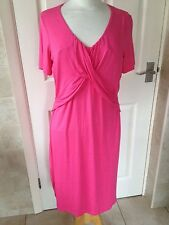 Next Ladies Pink Maternity Dress Size 14. New With Tags.