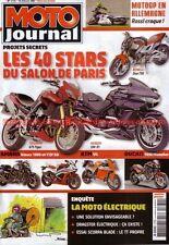 MOTO JOURNAL 1770 SCORPA BLADE XT KILLACYCLE Dragster Electric Salon PARIS 2007