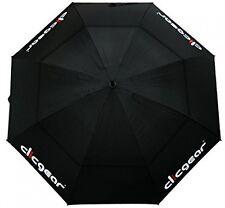 Clicgear 68? Double Canopy Golf Umbrella Black Golf Accessory Brand New
