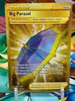 Pokemon Card BIG PARASOL Secret Rare GOLD 199/189 DARKNESS ABLAZE MINT-NM