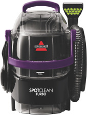 BISSELL SpotClean Turbo Steam Cleaner – Black (15582)
