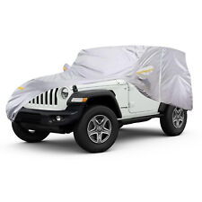 Waterproof Car Cover All Weather Vehicle Storage UV Protection For Jeep Wrangler