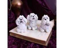 Nemesis now Three Wise Westies 8cmSee No Hear no Evil