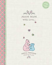 Cute as a Button - From Mum With Love, Keepsake Book: