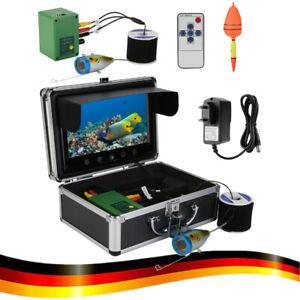 """9"""" 30LEDs 1000TVL Fisch Finder Fischkamera Unterwasser Kamera für See Flussangel"""