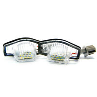 2 X LED Éclairage De Plaque Honda Jazzo Odyssey Flux Insight Logo Xenon