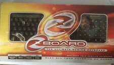 Zboard World of Warcraft keyboard & 2 Zboard keyboards PC Gaming Original Box