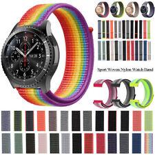 Woven Nylon Loop Bracelet Band Strap For Garmin Vivoactive 3 Forerunner 245 20mm