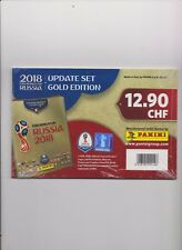PANINI 2018 World Cup Russia GOLD Edition Update Sticker Set - Complete 96 St
