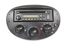 03 FORD ESCORT RADIO SINGLE CD PLAYER UNIT AM FM CLIMATE CONTROL 3S4K-18C838-AA