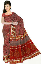 mousseline Bollywood Carnaval SARI ORIENT INDE fo326