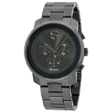 Movado Bold Grey Dial Stainless Steel Men's Watch 3600277