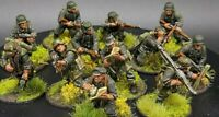 Well Painted 28mm Bolt Action German Panzer grenadiers ×12 Warlord Games Ww2