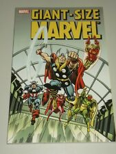 Giant-Size Marvel Roy Thomas Gerry Conway Len Wein (Paperback)  9780785117841