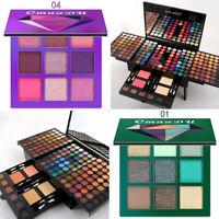 180/9 Colors Eye Make Up Kit Professional Makeup Set Eye Makup Palette w/ Brush