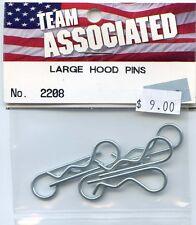 # 2208  VINTAGE ASSOCIATED RC300 / RC500 LARGE HOOD PINS