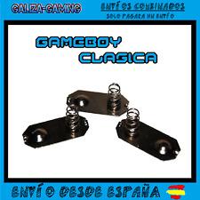 Kit Contactos Pilas Muelles Game Boy Clasica Repuesto Gameboy DMG-01 Gris