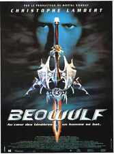 Beowolf 1999 Poster 01 Metal Sign A4 12x8 Aluminium