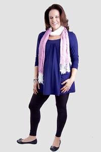 NEW Pregnancy Maternity Plus Size Leggings Full Length - Black SIZE 18-26