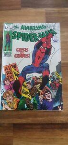 Amazing Spider-Man #68 1969 Crisis On Campus! Comic Book FREE POST