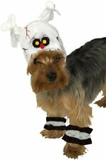 Rubie's Pet Costume, Headpiece with Cuffs Skeleton Med
