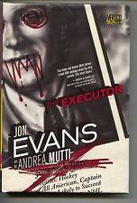 Executor 1 HC Hardcover DC Vertigo Crime 2010 NM Jon Evans