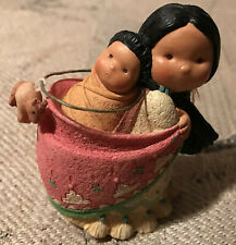 """Enesco - Friends of the Feather - """"Mother and Her Little One."""""""