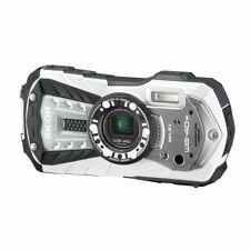Ricoh Waterproof Digital Camera Ricoh Wg-40W White Waterproof 14M Withstand Shoc