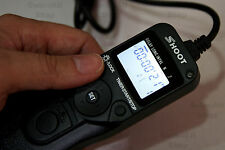 RM-S1AM Timer Remote Control shutter Release For Sony A77 Alpha 900 Minolta a2