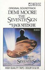 THE SEVENTH SIGN Soundtrack CASSETTE TAPE VERY RARE OOP Jack Nitzsche