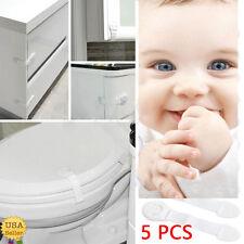 5Pcs Child Infant Baby Kids Drawer Door Cabinet Cupboard Toddler Safety Locks